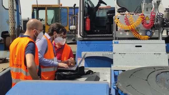 Progetto h2ports: Truck a idrogeno nel porto di Salerno