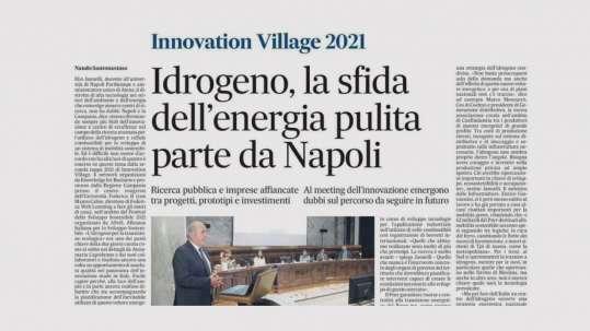 Idrogeno, la sfida dell'energia pulita parte da Napoli
